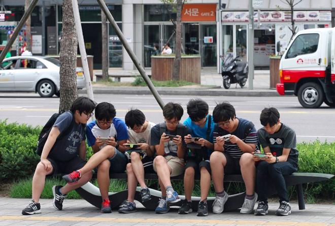 Trại cai nghiện smartphone ở Hàn Quốc