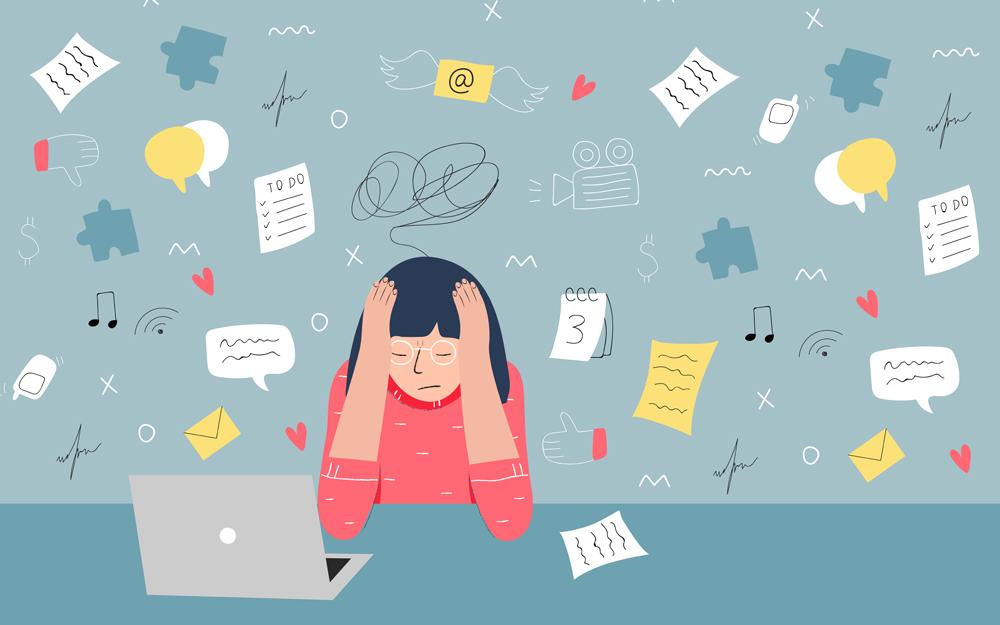 10 phút mát xa giúp giải toả stress