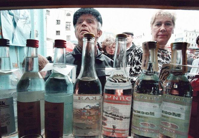 Nước Nga và vodka: Từ