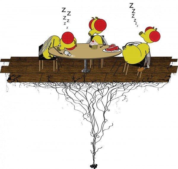 Protein và muối gây ra hiện tượng buồn ngủ sau khi ăn